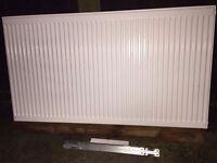 Brand new 600x1100 single convertor central heating radiator