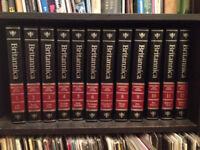 Encyclopaedia Britannica 15th Edition Black Leatherbound