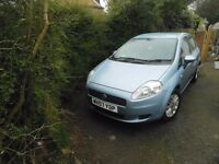 FIAT PUNTO 07 PLATE 6 SPEED BOX WITH BLUETOOTH FULL MOT