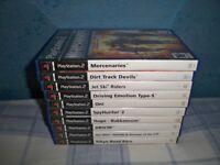 Bundle of 10 PS2 Games