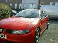 Leon cupra moted still needs work or good for breaking £250 bring your own wheels £350 with wheels
