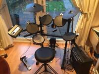 Roland TD-3 Electronic Drum Kit & Amplifier