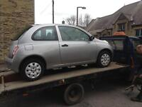 Breaking for spares Nissan micra