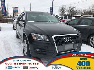 2012 Audi Q5 2.0T Premium | ONE OWNER | LEATHER |HEATED SEATS