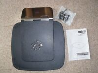 MIRA PREMIUM FOLDING SHOWER SEAT MOBILITY AID 1731.001 1731.002 DARK GREY CHROME NEW