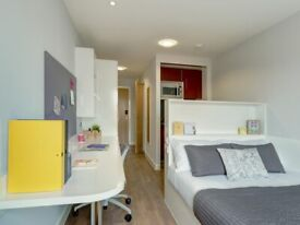 STUDENT ROOMS TO RENT IN LONDON.PREMIUM STUDIOS WITH COMMUNAL AREA,WARDROBE AND STUDY SPACE