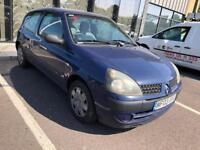 2004 Renault Clio. Mot. Tax DIESEL.