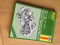 Fiat 126 Haynes Workshop Manual 1973 - 1987 594cc 652cc
