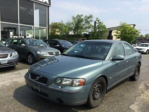 2002 Volvo S60 2.4T,AUTO,safety e/t+3 YEARSwarranty inculded