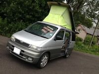 HI SPEC MAZDA BONGO 2.5 TD 4WD 6 SEATER/CAMPER /DAY VAN/LOW MILES/LOW LEVEL COOLANT ALARM /VW T4 T5
