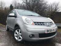 Nissan Note Year Mot No Advisorys Low Mileage Service History Cheap Car !!!