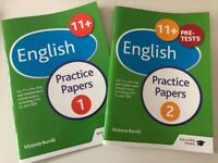 11+ English Practice Papers