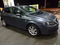 2006 top spec seat leon 1.9 tdci diesel with full service history+long mot+tax DRIVEAWAY