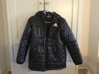 Adidas Black puffa kids jacket