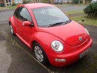 Volkswagen Beetle 1.6 litre 3 door VERY LOW MILEAGE
