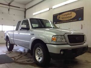 2008 Ford Ranger Sport Ext. Cab, 4x2, Manual