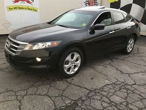 2012 Honda Crosstour EX-L, Automatic, Leather, Sunroof, Back Up