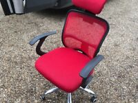 Red Office Chair - Fully Adaptable