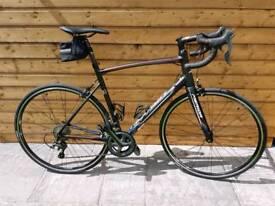 2017 Merida Ride 300 56cm Matt Black road bike