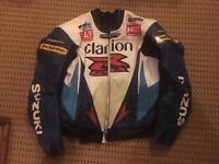 Scotts Leathers Jacket size 46 GSXR colours