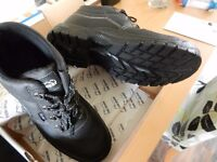 SIZE 11 SAFETY WORK BOOTS.. (BRAND NEW).. CHOICE OF 4 PAIRS..