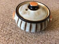 DENBY STUDIO STONEWARE : COVERED CASSEROLE / SOUP DISH