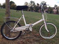 Classic vintage folding bike