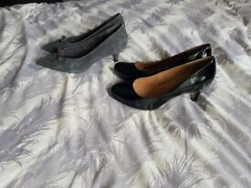 2 x ladies shoes