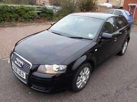 2008 AUDI A3 SPECIAL EDITION BLACK LOW MILEAGE