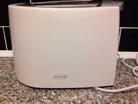 Haden White Electric Toaster