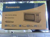 Panasonic NN-ST479S Sensor Microwave Oven, Stainless Steel