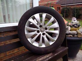 Citroen C4 Grand Picasso 2008 Alloy Wheel
