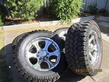 "Urgent Sale. 6 Off, 20"" x 8 stud Rims & Tyres Kenwick Gosnells Area Preview"