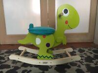 Wooden Dinosaur Rocker - Mamas&Papas - 12 months plus - perfect condition