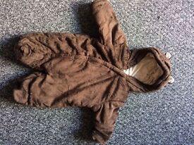 First size pram coat