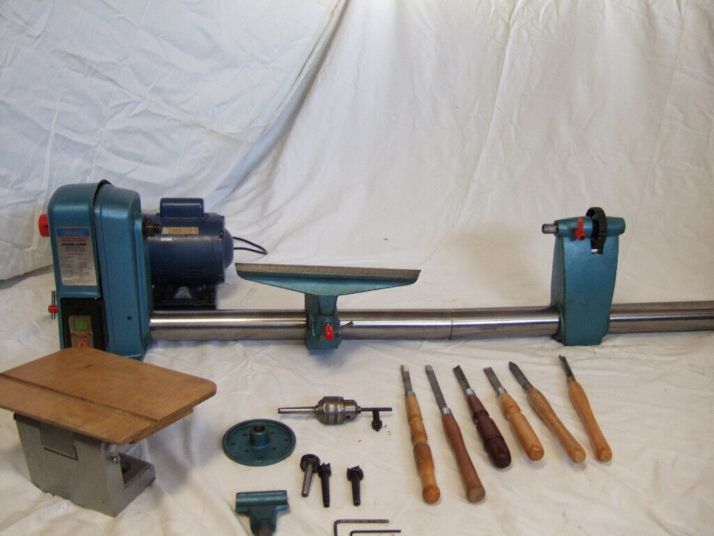 draper woodworking lathe wlt12 and accessories. | in porthcawl, bridgend |  gumtree