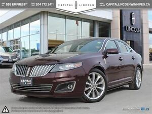 2011 Lincoln MKS ECOBOOST AWD **Nav-Rear Cam-Heated Seats**