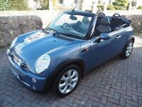2005 Mini Cooper 1.6 Convertible with Low Mileage