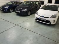 UBER CAR HIRE WITH INSURANCE INCLUDED TOYOTA PRIUS UBER LOW DEPOSIT PCO CAR RENT 7 SEATER CAR HIRE