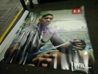 Aj boxin champion posters 8ft by 12ft big