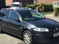 Renault Megane Expression Estate FSH 09 130k - Quick sale