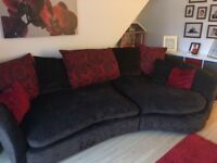 Large sofa and cuddle swivel chair from smoke and pet free home good condition