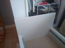 Ikea Malm single bed and Ikea mattress