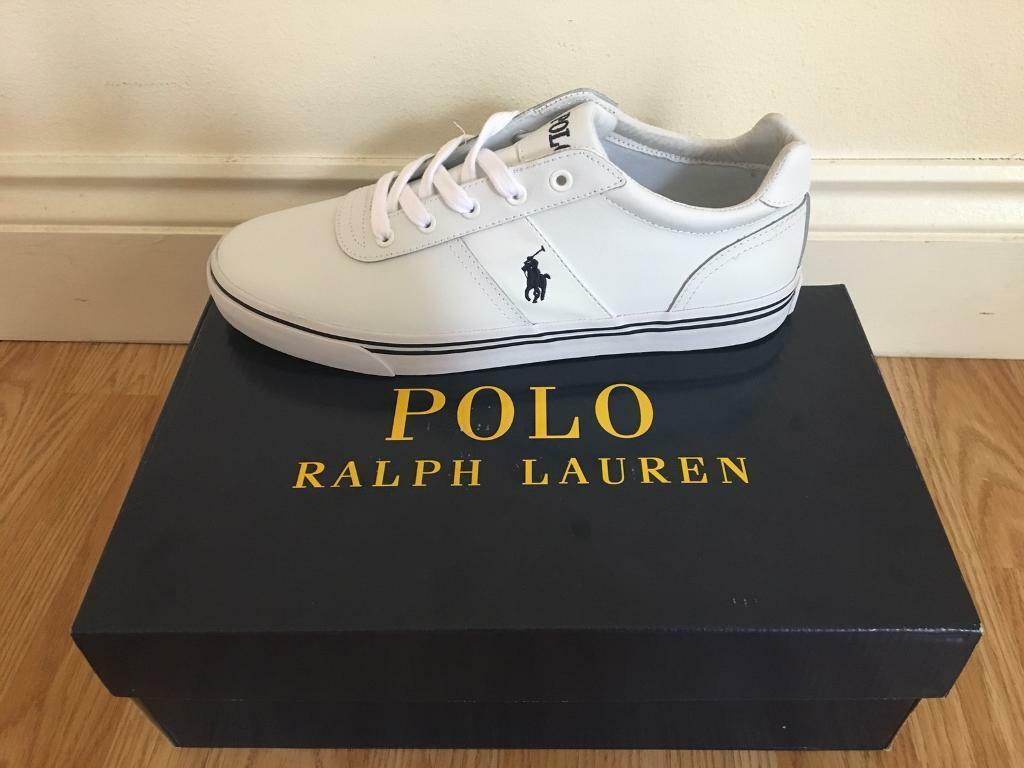 Polo Ralph Lauren Hanford white size 10(someone make me an offer ... f332eef9a09