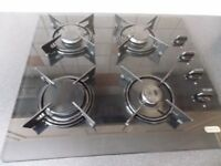 Gas Hob Glass Top Excellent Condition