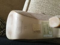 Ladies suede,leather sandals size 4(37) brand new
