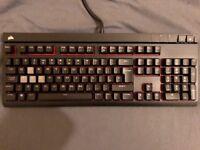 Corsair Strafe Mechanical Keyboard with Box etc