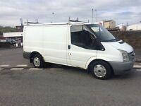2007 07 facelift ford transit 2.2tdci 280 swb hpi clear roof rack plylined long mot no vat £1195