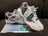 Junior Yonex Badminton Shoes. Unworn. Brand New With Box