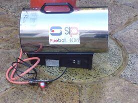 SIP Fireball 80DVS Space Heater Propane Gas (LPG) - Heavy Duty Construction.